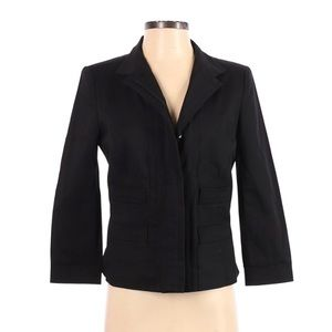 ECCOCI Black Blazer Suit Work Business Jacket 2